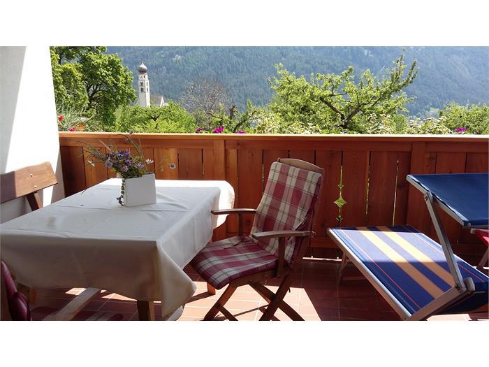 Terrazza con vista panoramica Veilchen