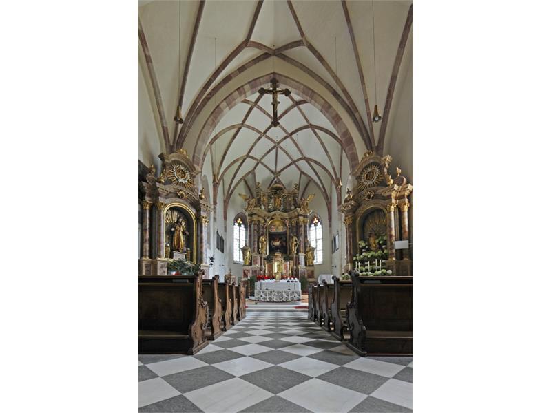 Chiesa Parrocchiale S. Pietro e Paolo, Parcines