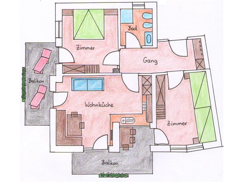 appartamento 3 - pianta