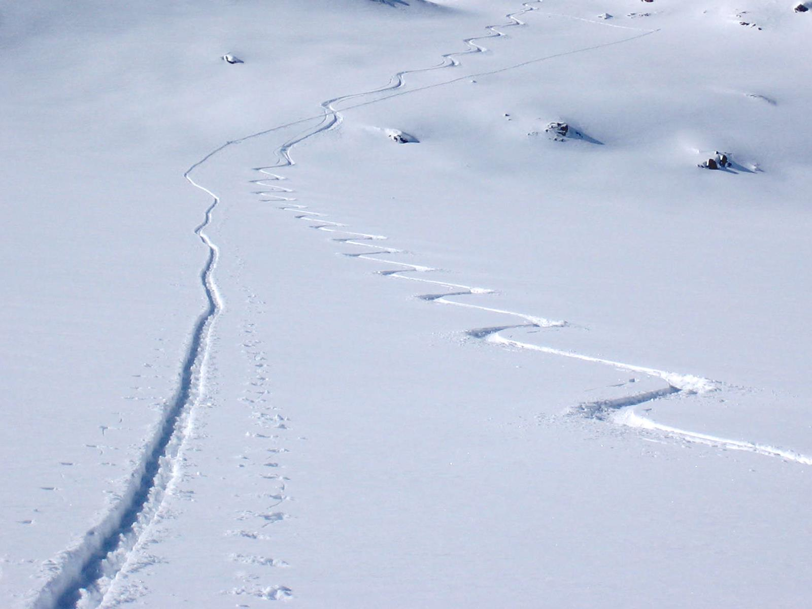 Ratschinger Kreuz summit ski tour