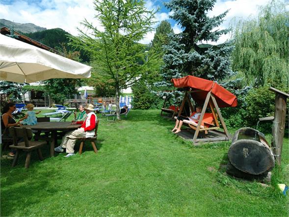 Pfitscherhof garden