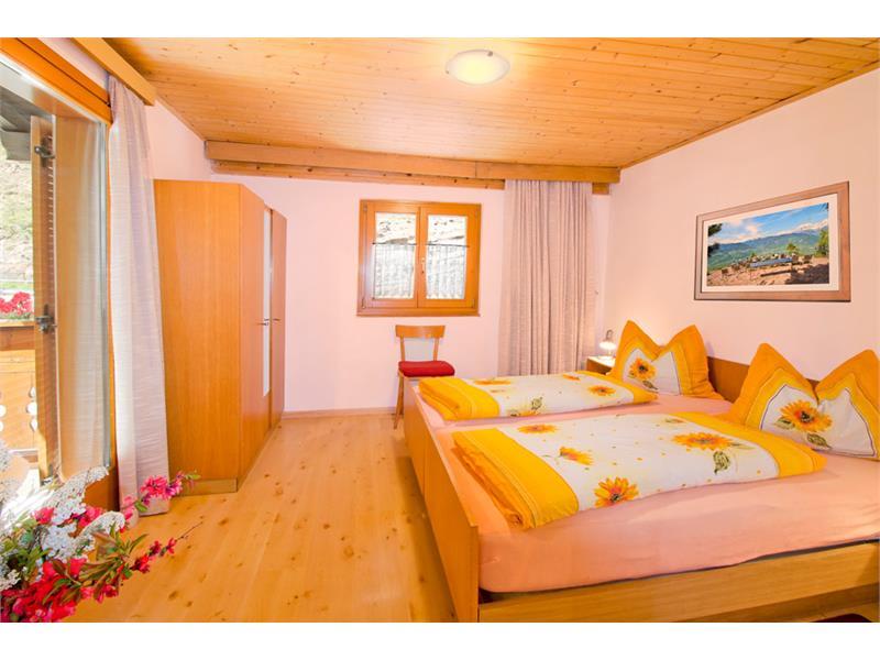 Schlafzimmer - Eggerhof in Vöran