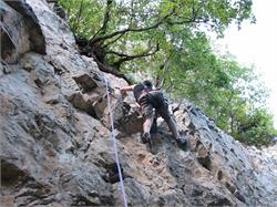 Percorso di arrampicata Monticolo