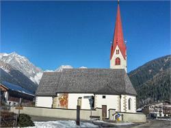 Parish church Saint Walburg - Antholz Niedertal