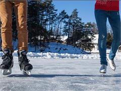 Eislaufen in Jenesien