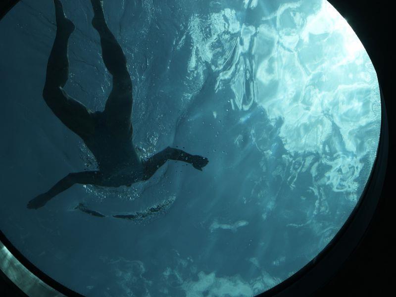 Schwimmen am Kalterer See