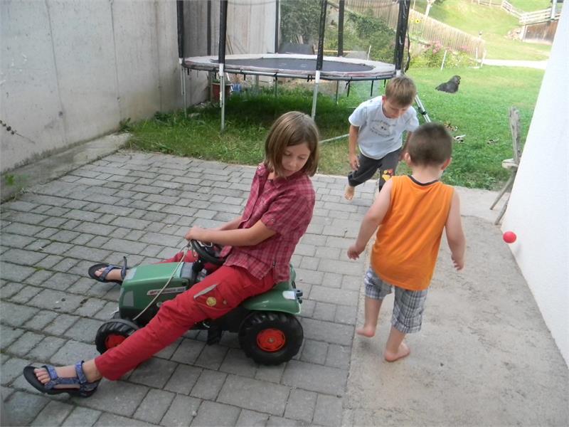 Area giochi nella natura per i bambini - Maso Boznermüllerhof a Verano