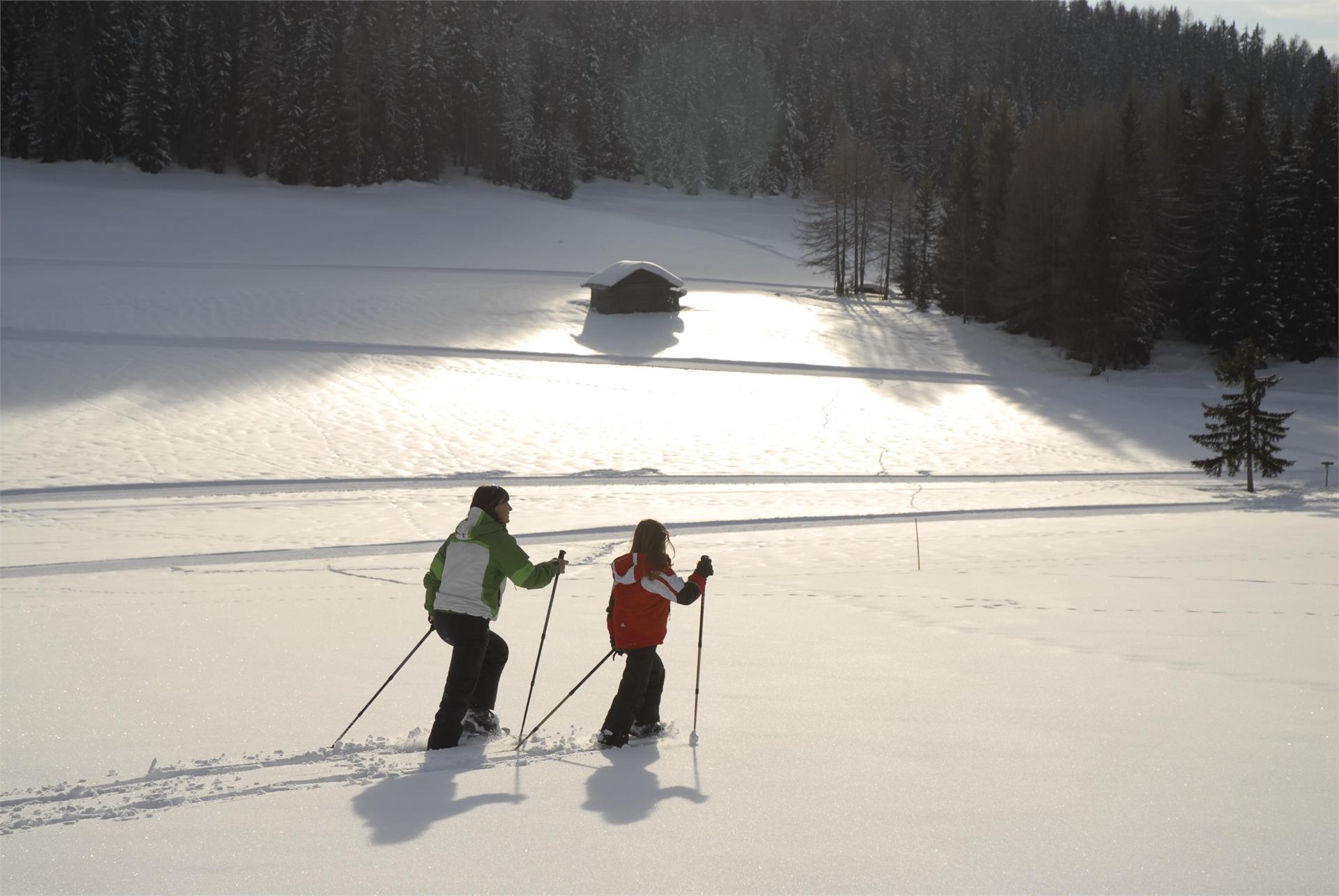 Escursione invernale alla Trattoria Unteregger