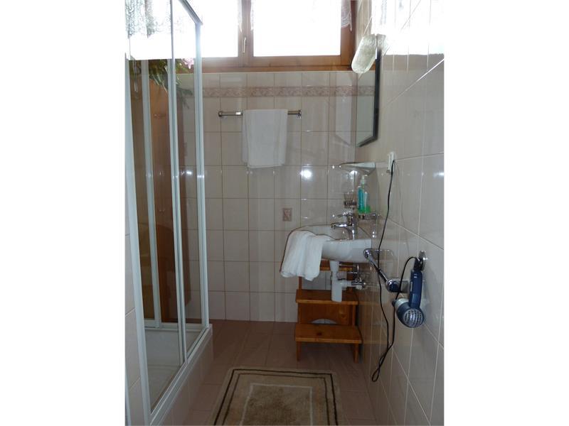 bagno appartamento Ulla- casa Albert Haselrieder, Fié allo Sciliar