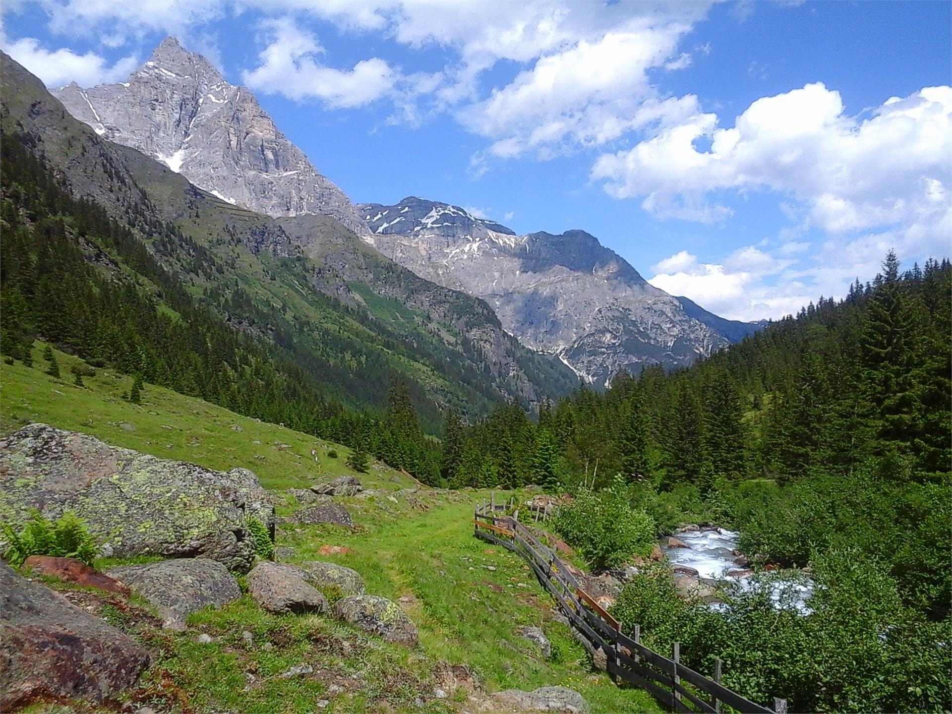 escursione nella Valle di Pfleres