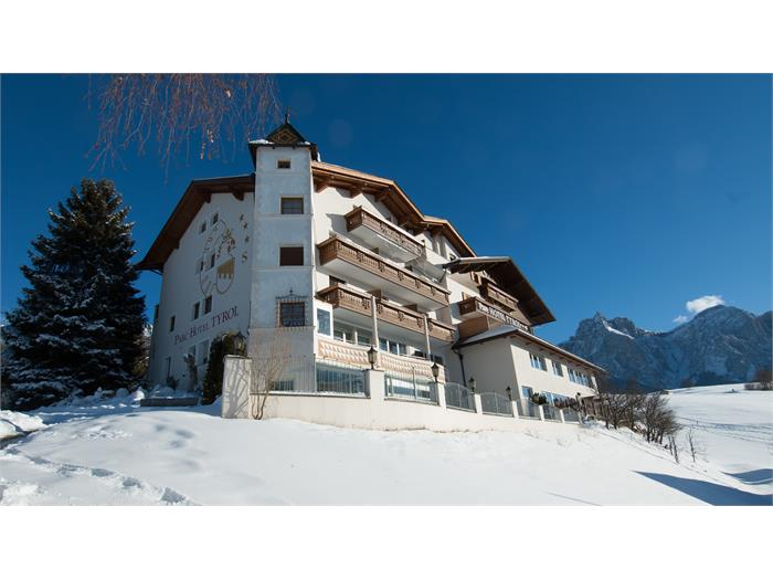 Parc Hotel Tyrol - view from the village