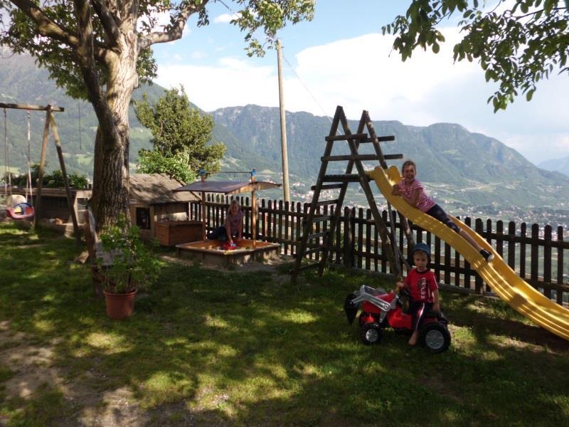 Holiday on a farm Gereiterhof - playground