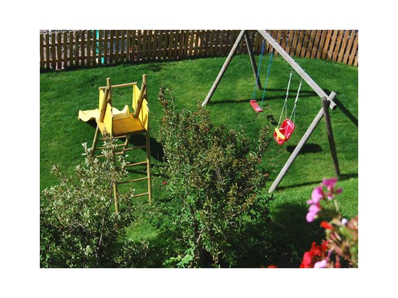 Area giochi per i bambini - Casa Bergfried