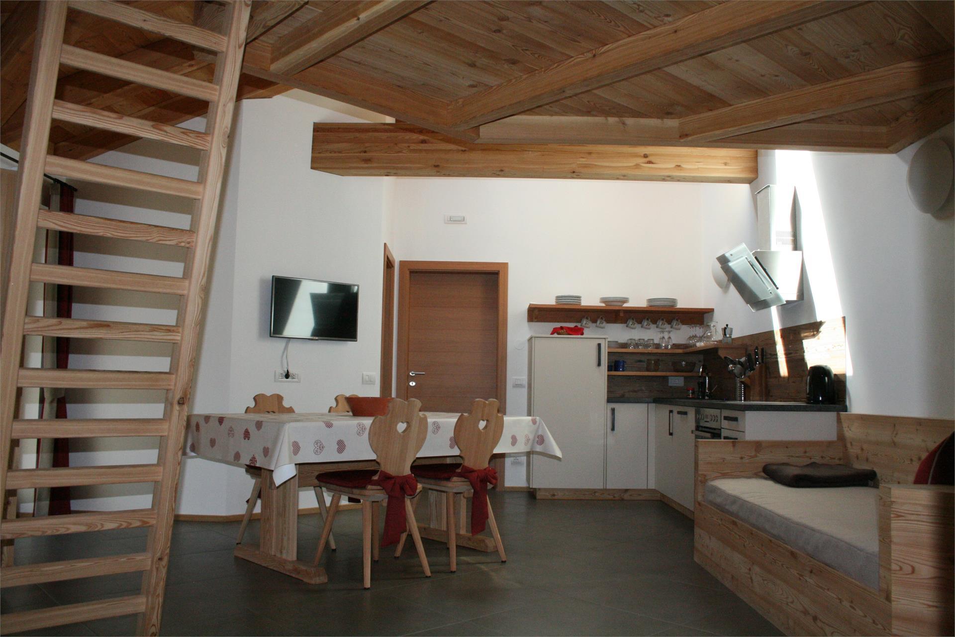 appartamento Paula - soggiorno e cucina