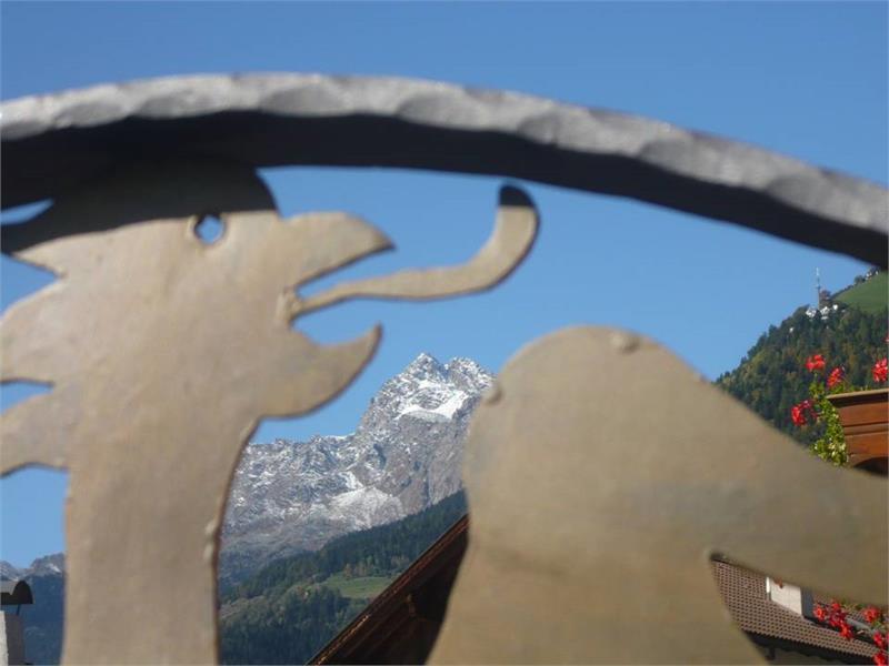 Vista sulla cima Tschigat