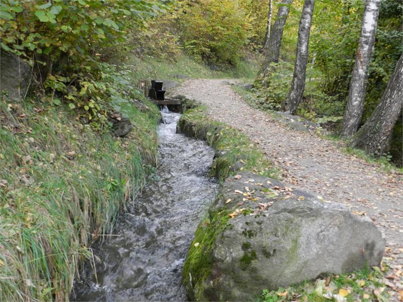 Waalweg di Rablà (sentiero della roggia) - Percorso Circolare