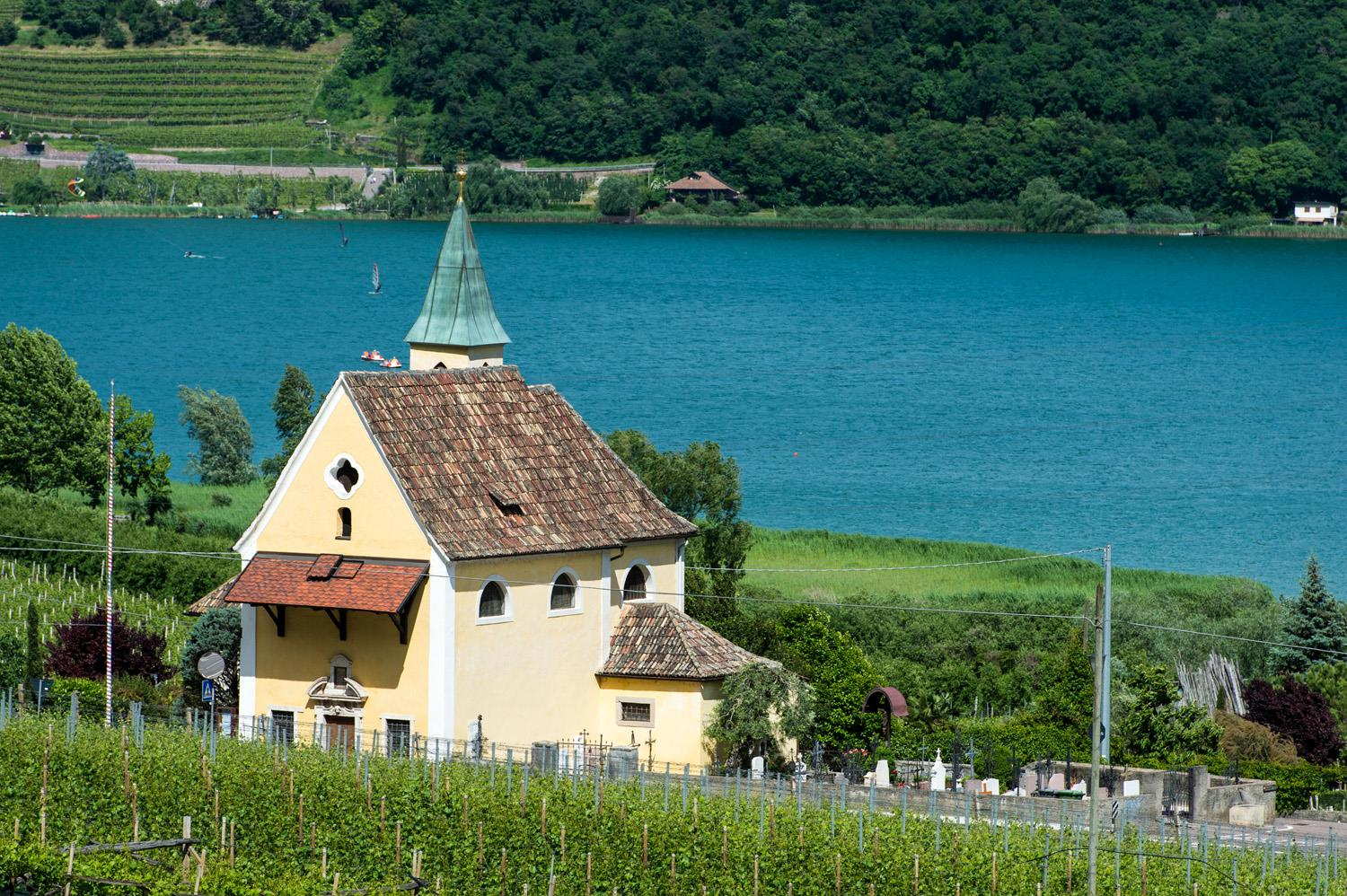 Church S. Giuseppe al lago/St. Josef am See