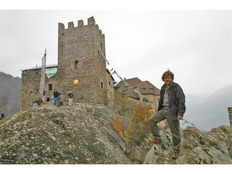 Castello Juval con Reinhold Messner