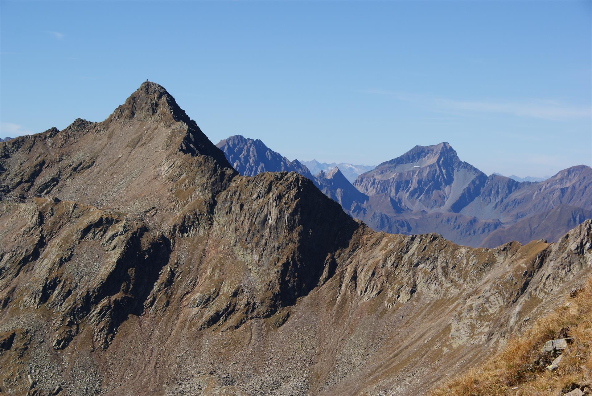 Bergtour zur Hochgrubbachspitze