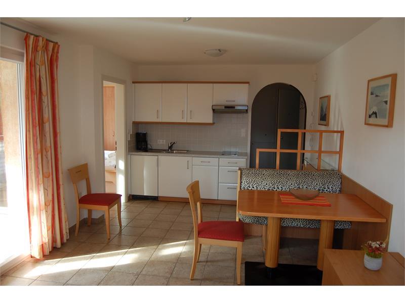 Living room- kitchen corner