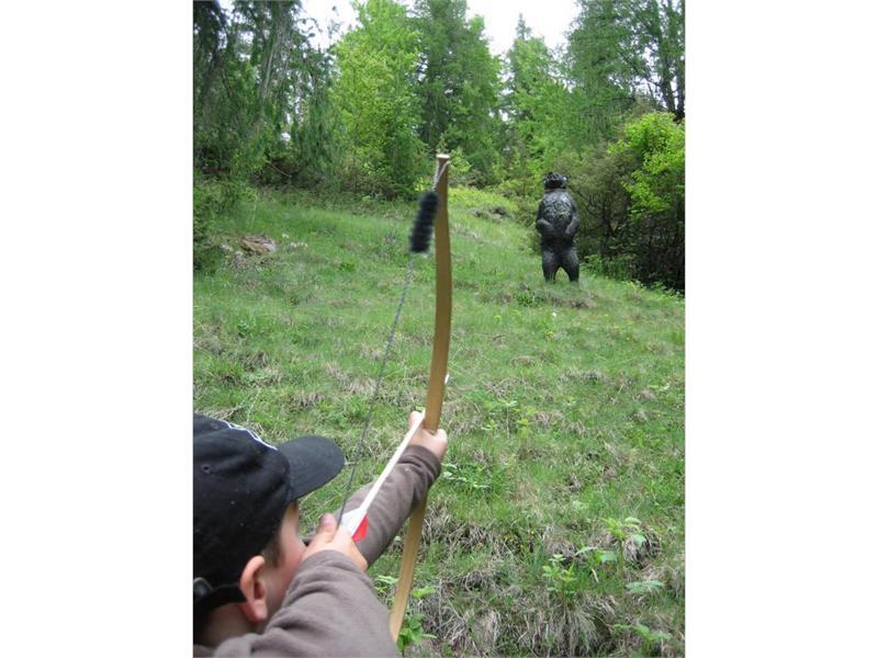 Percorso di tiro con l'arco