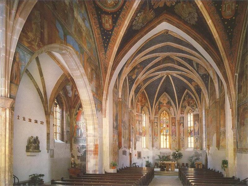 Gli affreschi nella chiesa parrocchiale di Terlano