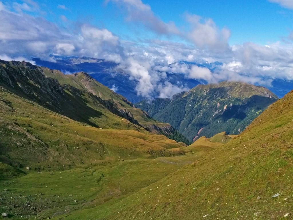From Flanes di Sotto to the Simile Mahd hut