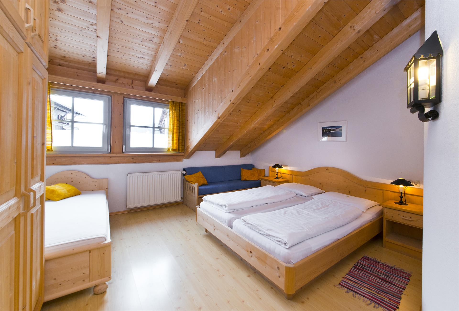 appartamento genziana - camera da letto