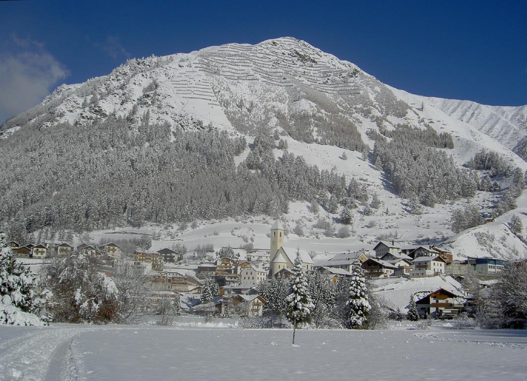 Curon Graun in winter