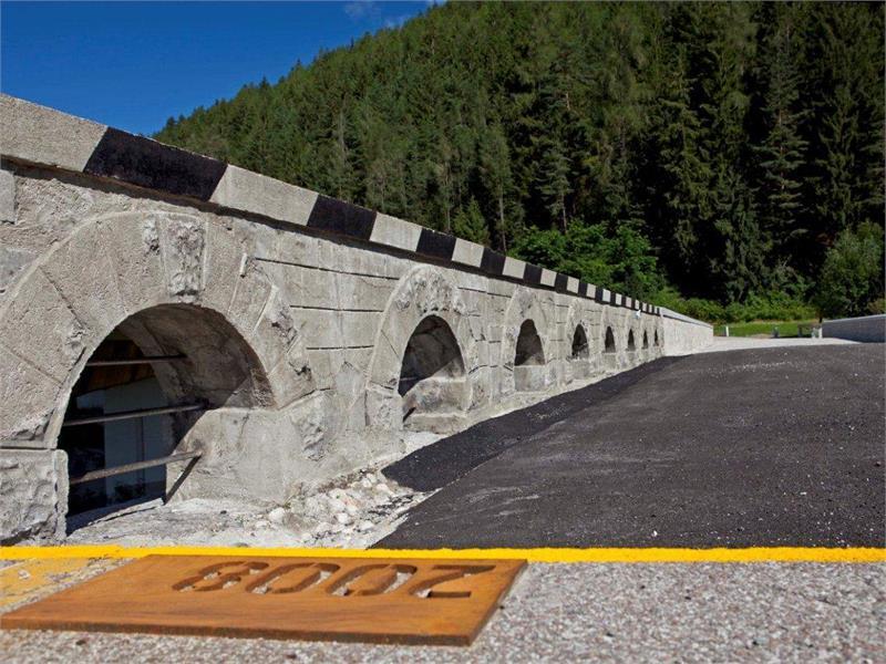 Historische Rasner Brücke ANtholzertal