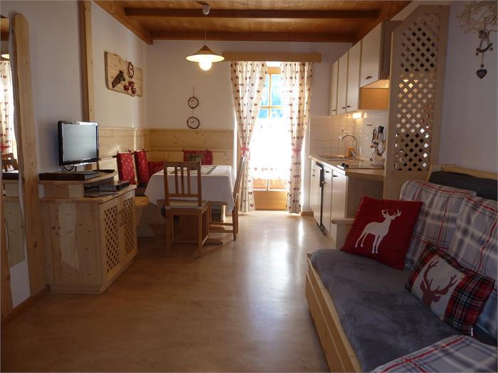 Livingroom Schlernblick