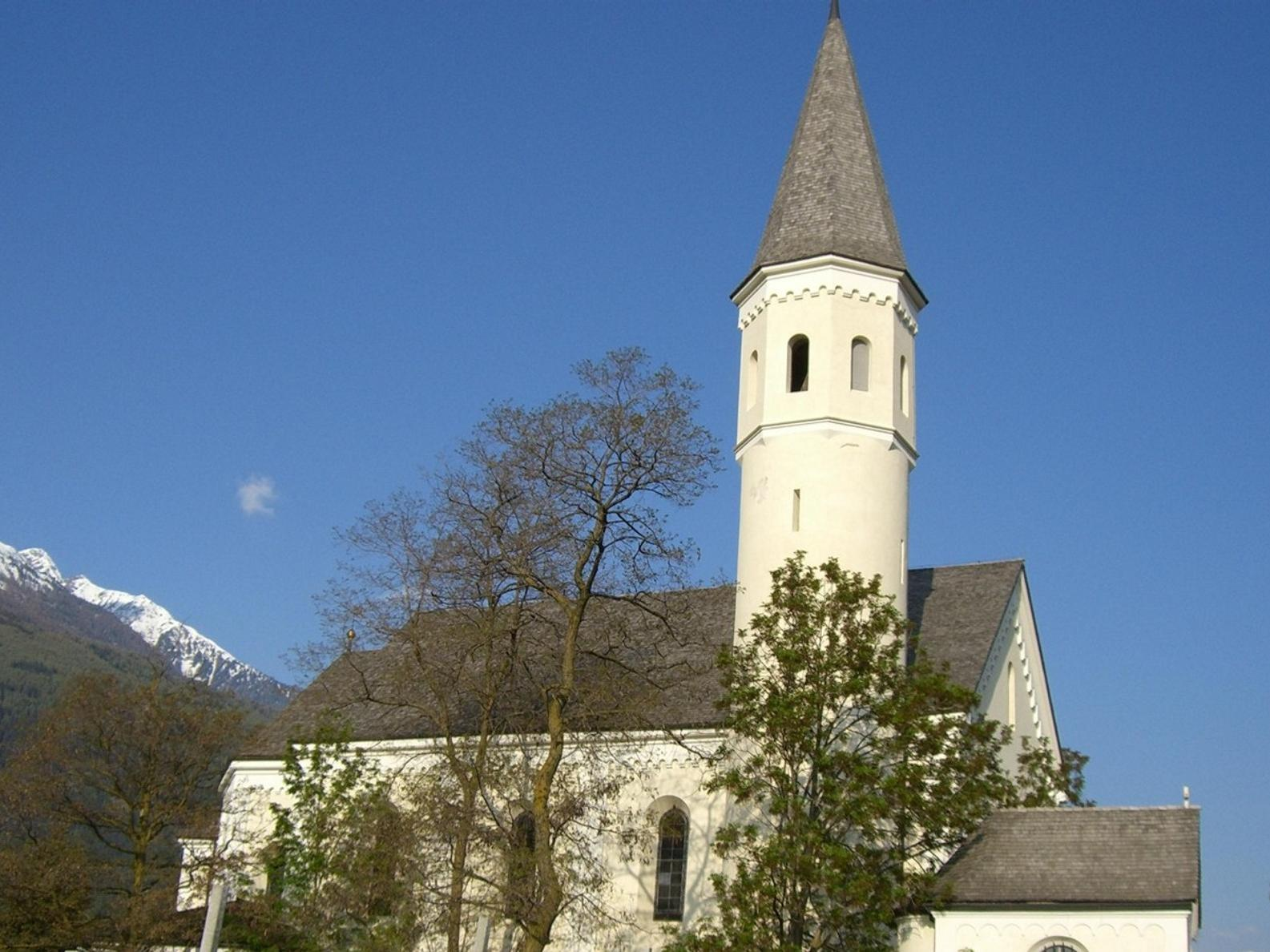 Church of Maria Lourdes, Lasa/Laas