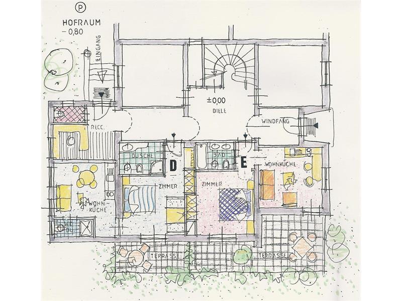 appartamenti a piano terra