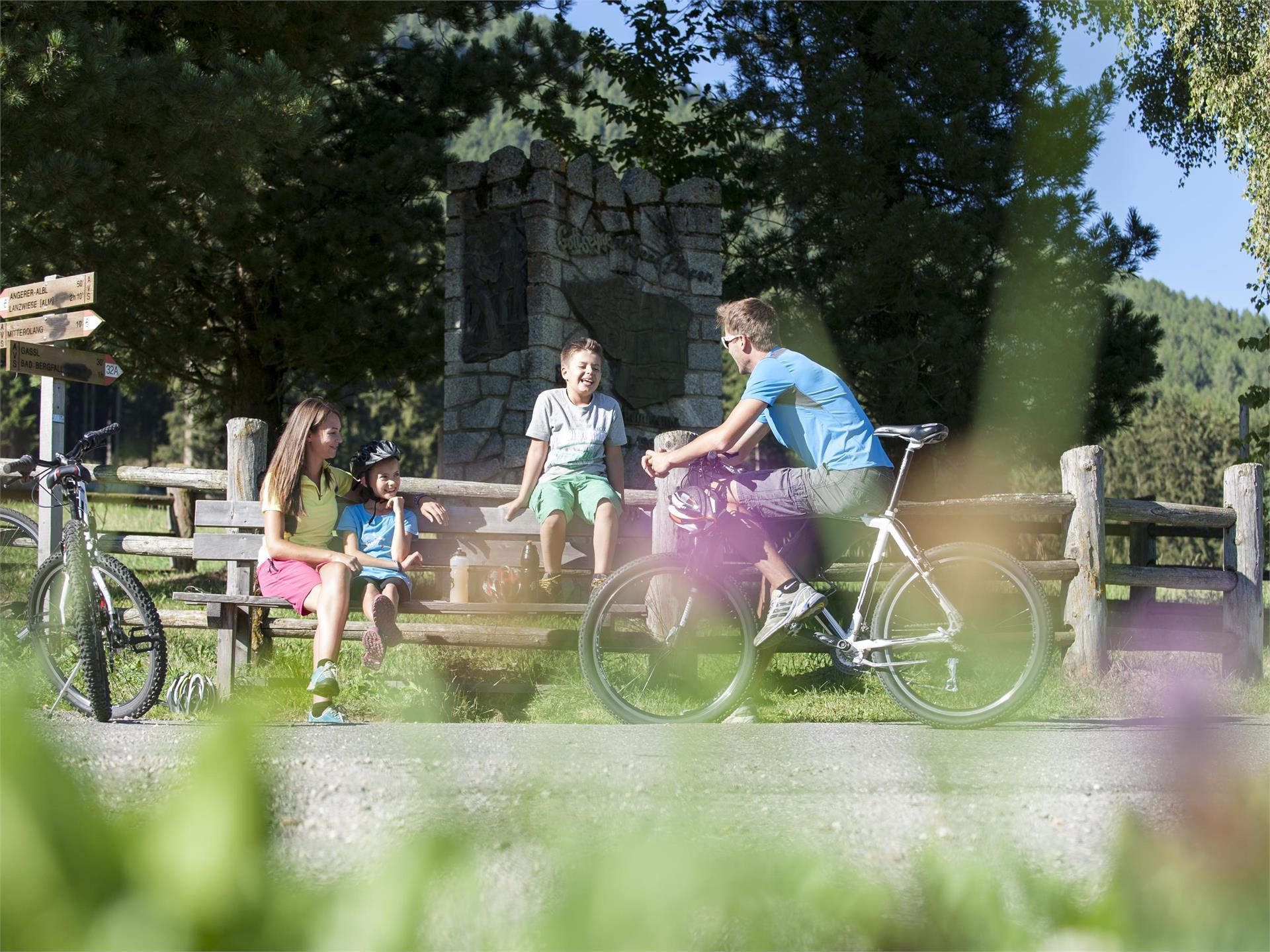 Von Olang nach Antholz Niedertal mit dem Rad