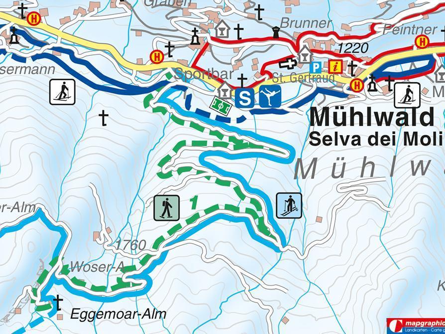 Snowshoe hike Eggemoaralm