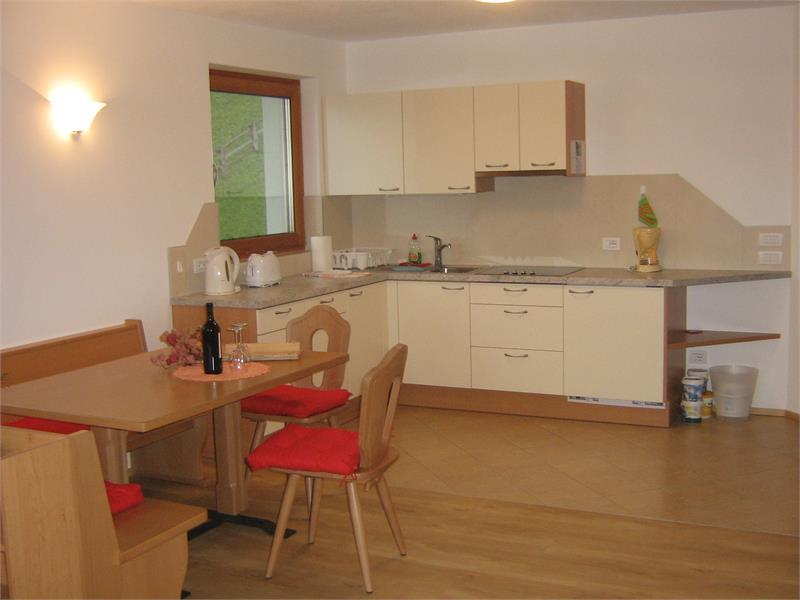 Küche in der Wohnung Bergluft