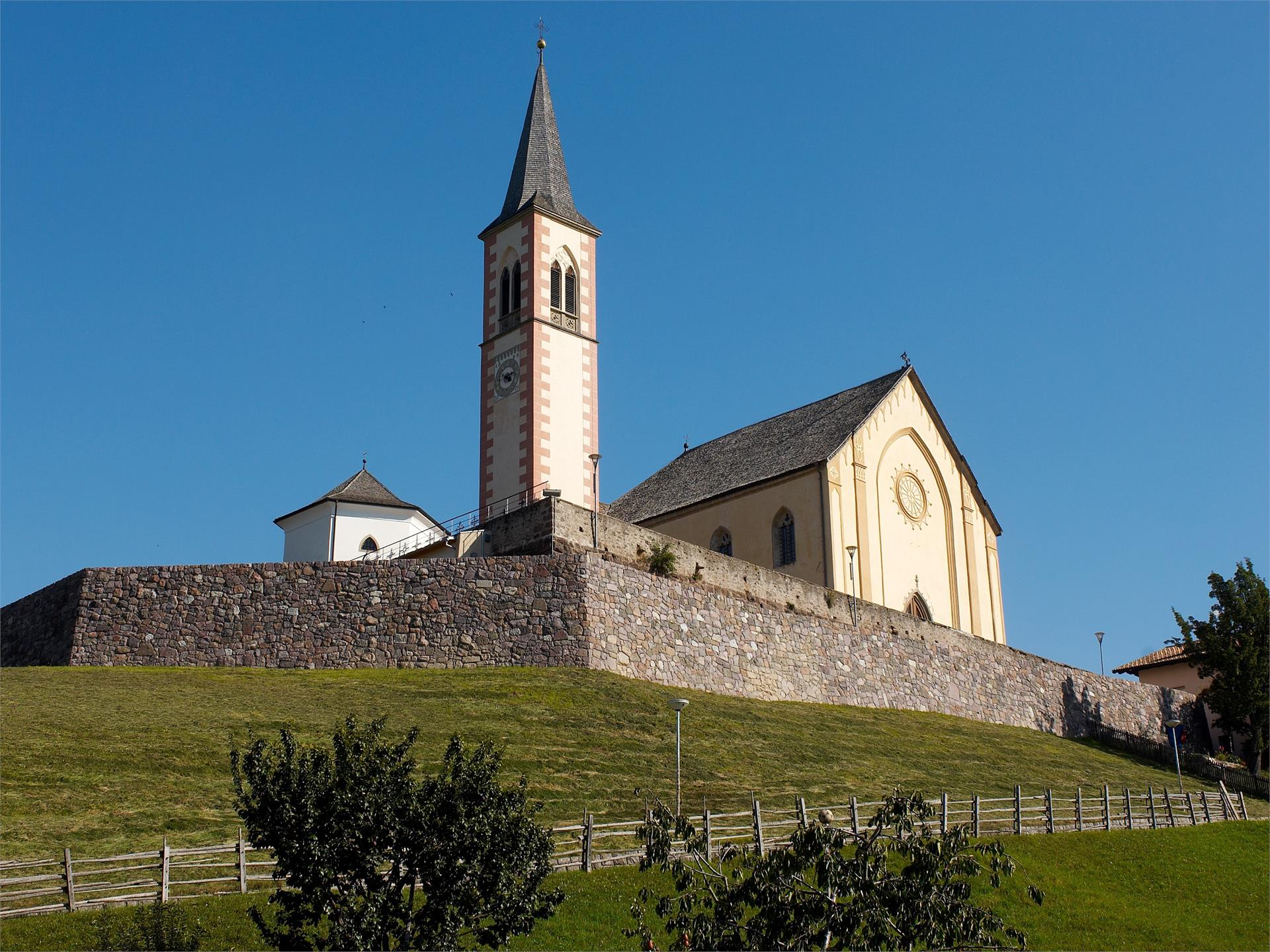 Parish church of Aldein