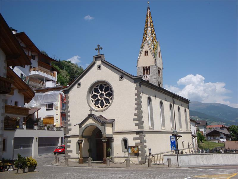 The Parish Church to St. Jacobs in Barbian