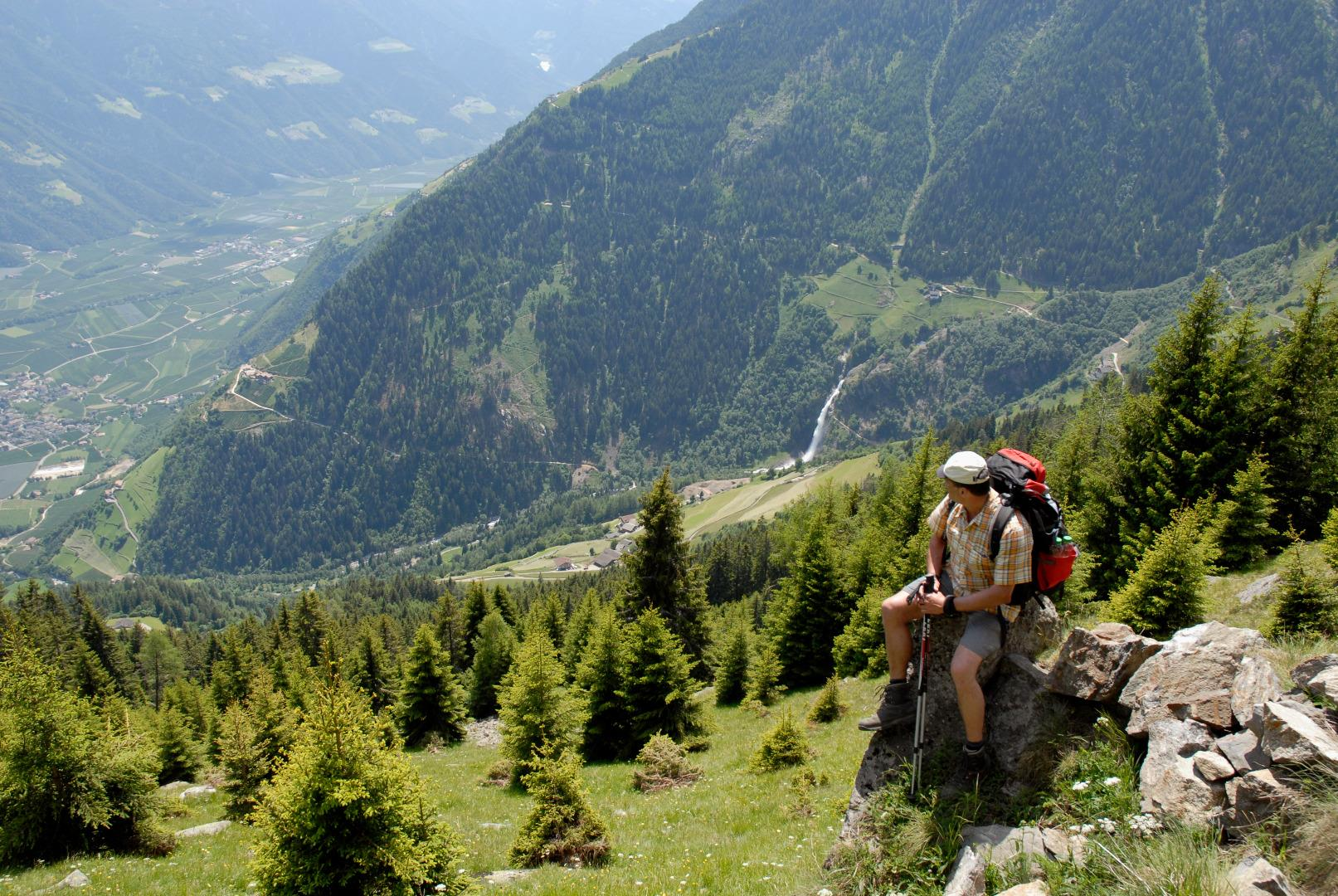 Merano High Mountain Trail: Eastwards – from Hohe Wiege up to the Hochganghaus Mountain Hut