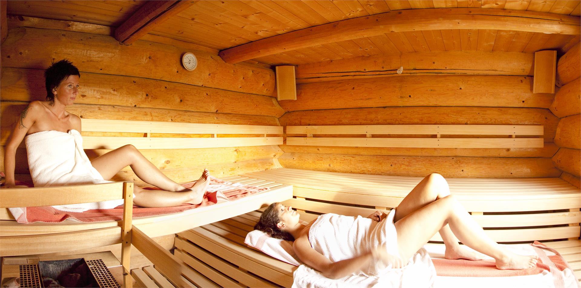 Finnische Panorama Sauna