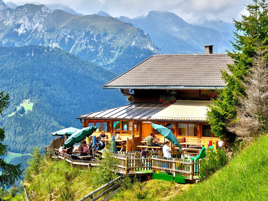 To the Prantneralm mountain hut