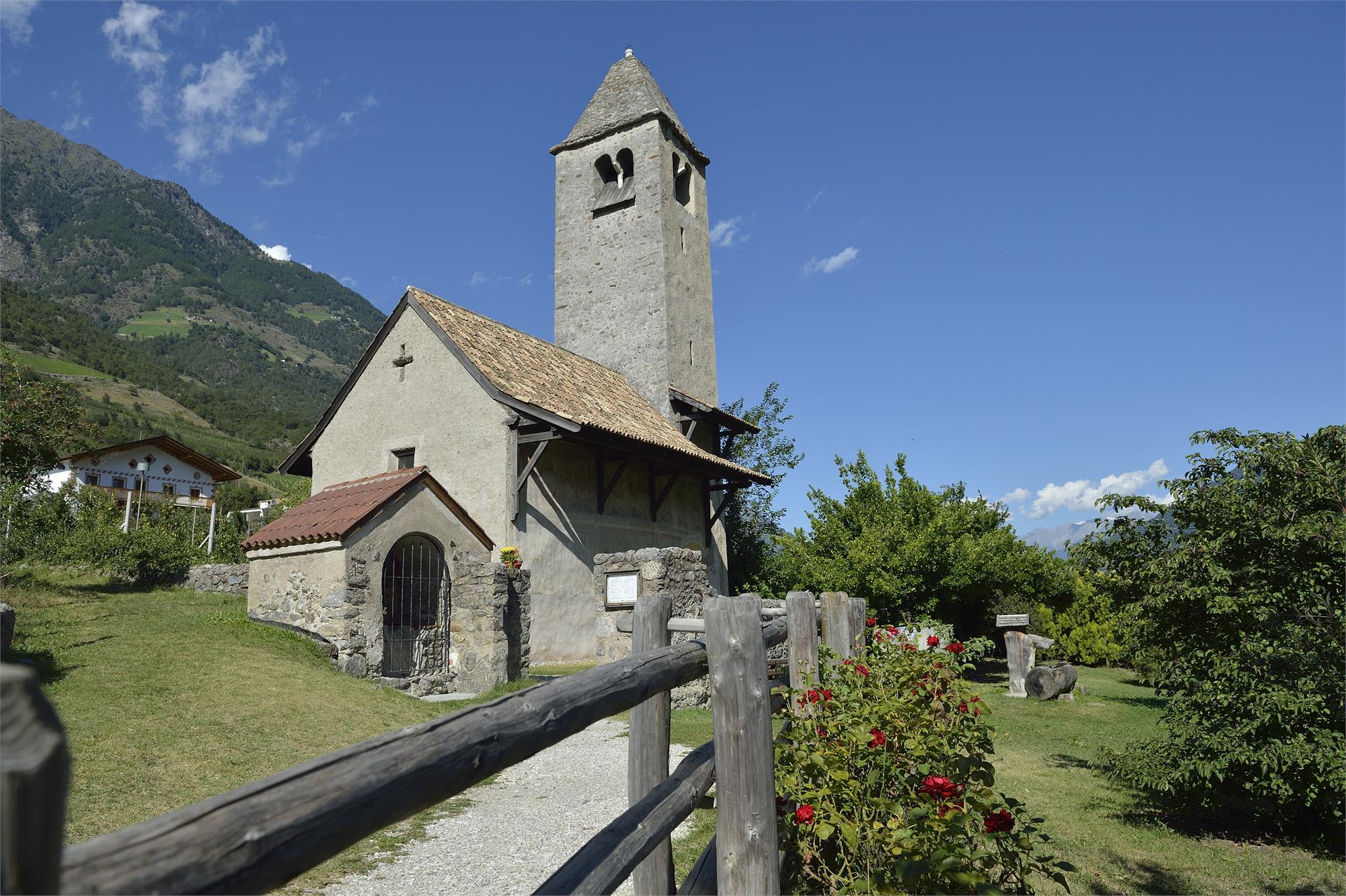 Church of San Procolo/St. Prokulus in Naturno/Naturns