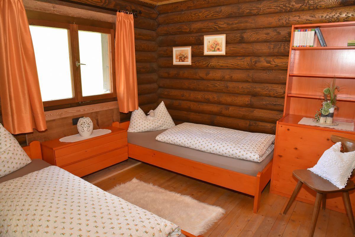 Berghütte Ahrntal_camera da letto