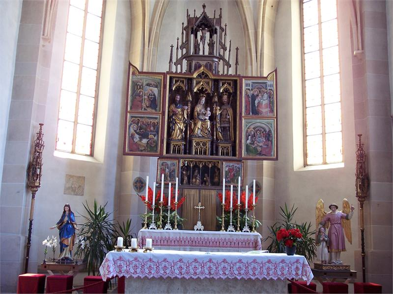 Altar Kirche St. Sigmund
