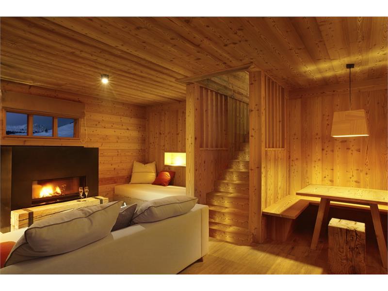 Chalet livingroom