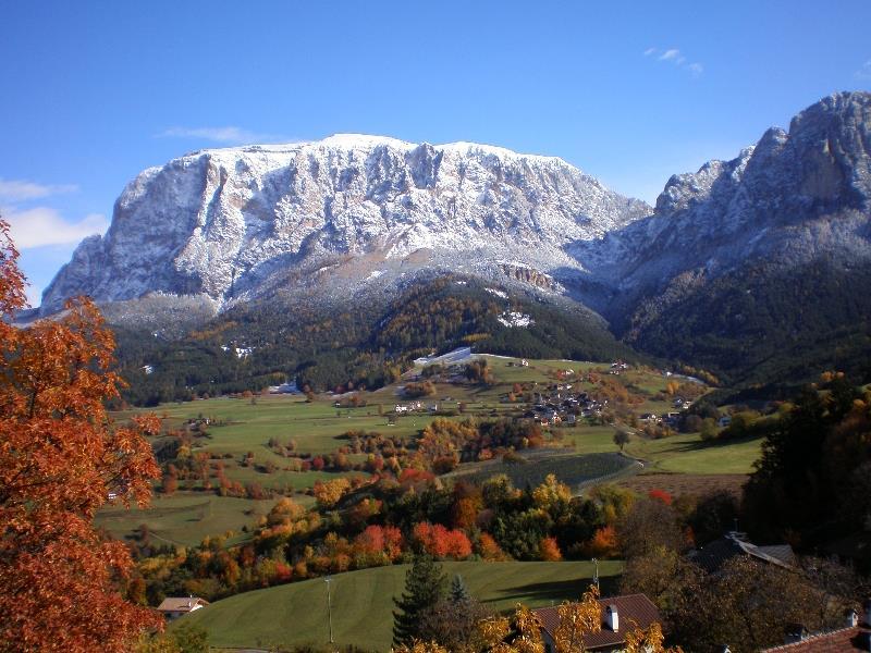 Herbststimmung- Schantlhof, Völs am Schlern