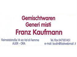 Generi Misti Kaufmann