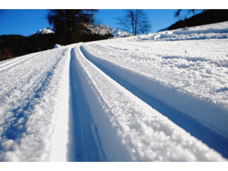 Cross country skiing Deutschnofen
