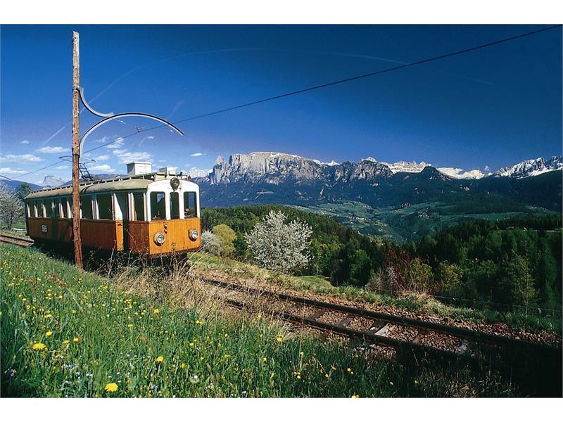 Treno del Renon - Ferrovia in montagna