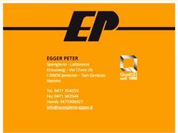 Egger Peter - Spenglerei